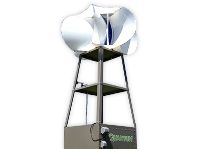 Quantum Wind Turbine